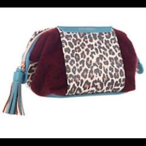 Sephora License To Leopard Voyager Makeup Bag NWT